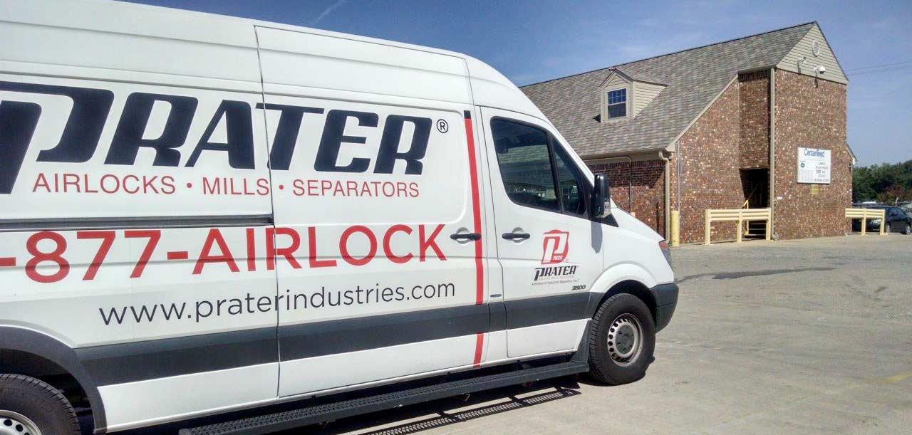 Prater Airlock Express Visits Little Rock Arkansas