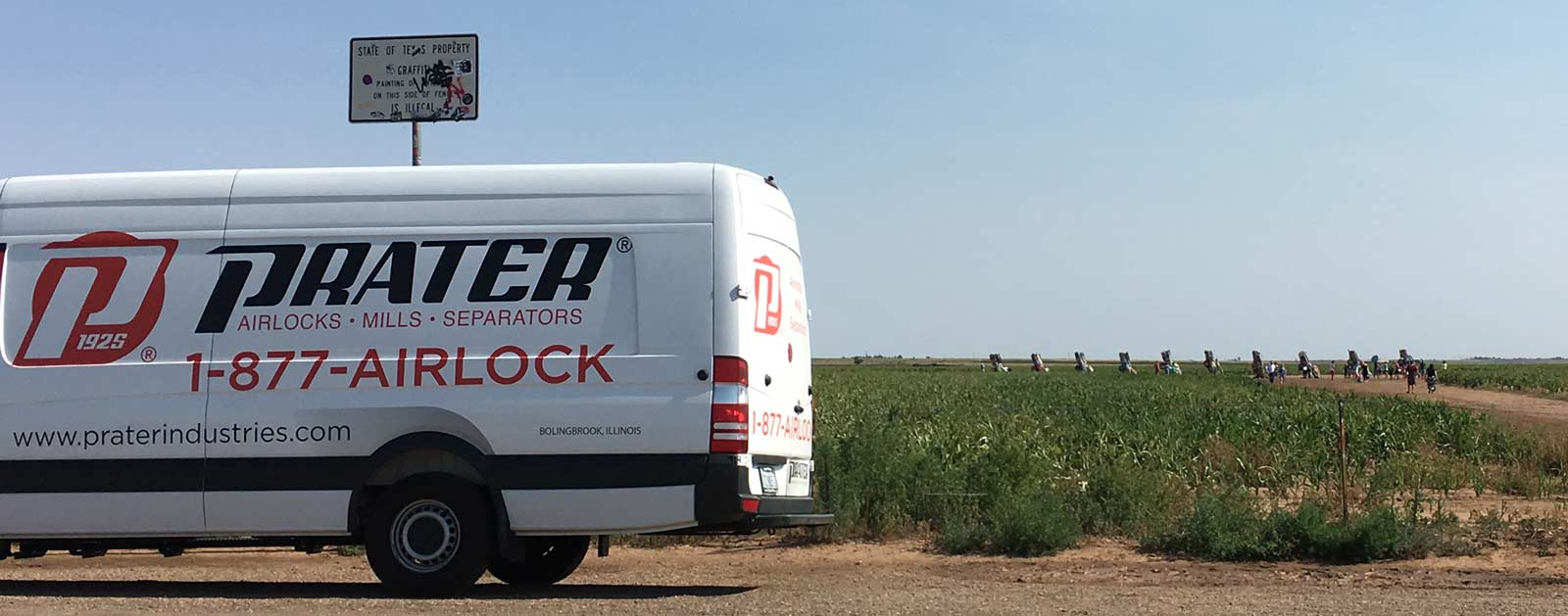 Prater Airlock Express Arrives in Texas