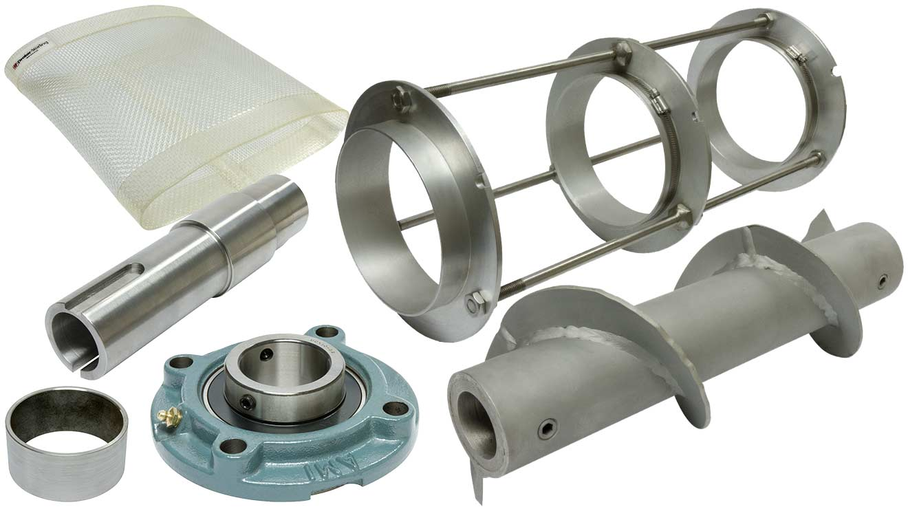 Prater Rotary Sifter Sieve Spare Parts